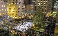Bryant Park Tree Lighting Skate-tacular