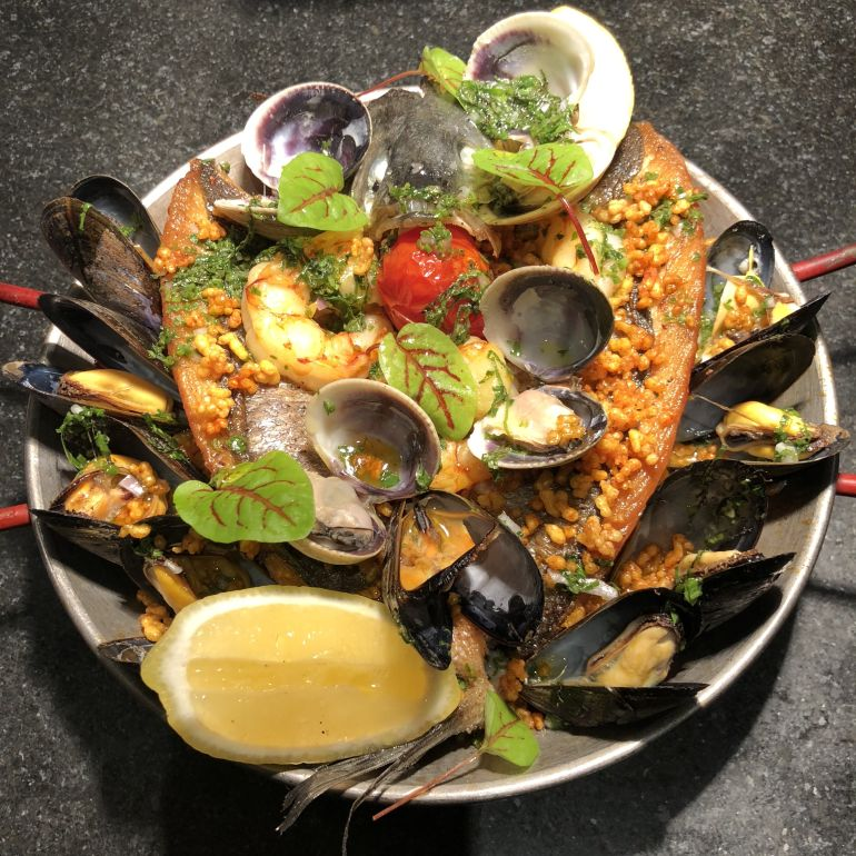 June's Special Summer Paella!